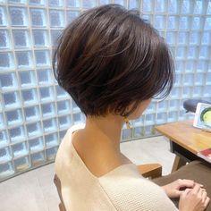 Pin on ヘアスタイル Short Curly Hair, Short Hair Cuts, Pixie Hair, Medium Hair Styles, Curly Hair Styles, Shot Hair Styles, Short Bob Haircuts, Asian Short Hairstyles, Asian Bob Haircut
