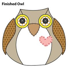 I had a wonderful day at AQC today (the Australian Quilter's Convention in Melbourne). I was mostly well-behaved, only buyi. Doorstop Pattern Free, Diy Doorstop, Owl Sewing Patterns, Owl Door, Owl Birthday Parties, Owl Crafts, Fabric Birds, Clipart, Sewing Projects