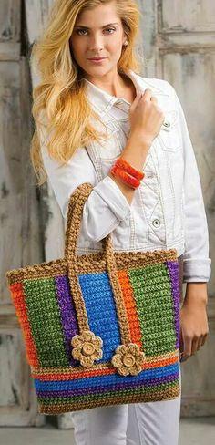 Marvelous Crochet A Shell Stitch Purse Bag Ideas. Wonderful Crochet A Shell Stitch Purse Bag Ideas. Bag Crochet, Mode Crochet, Crochet Shell Stitch, Crochet Gratis, Crochet World, Crochet Handbags, Crochet Purses, Crochet Patron, Tote Pattern