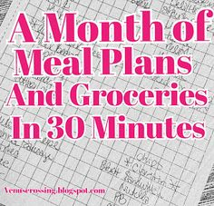 VenusCrossing with Liss - A Monthly Shopping List and Meal Plan for our family of 4. It is healthy, high protein, low carb, and cost us less than $500! We ordered online through our local Sam's Club and picked up in only 30 minutes, I tell you exactly how!