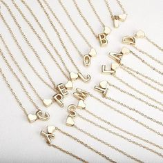 Tiny gold initial necklace gold letter necklace initials name necklaces Personalized pendant for women girls. Initial Pendant Necklace, Letter Necklace, Pearl Pendant, Collier Simple, Gold Necklace Simple, Delicate Necklaces, Delicate Jewelry, Delicate Rings, Dainty Necklace