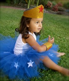 Wonder Woman kid's costume