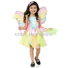 >> Click to Buy << Sweet Rainbow Angel Halloween Costume for Kids Girls Princess #Affiliate