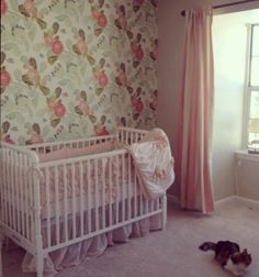 Vintage Nursery Girls Nursery Pink Nursery Nursery