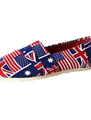 női cipő kényelem lapos sarkú vászon mokaszin c... – EUR € 14.99