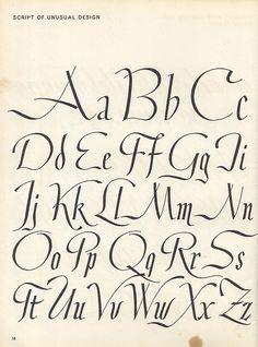 Script lettering (1957) p10