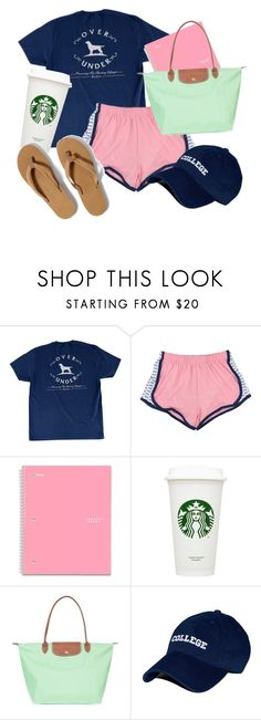 """""""You don't know the opportunities you'll have in life but you should be prepared for them"""" by so-preppy ❤ liked on Polyvore featuring Longchamp"""