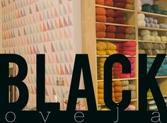 blackoveja craft shop , Madrid  Looks very inspiring