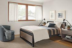 Otis Swivel Chair - - Modern Living Room Furniture - Room & Board Modern Bedroom Furniture, Modern Room, Living Room Furniture, Living Room Decor, Modern Beds, Kids Furniture, Modern Living, Modern Contemporary, Welded Furniture