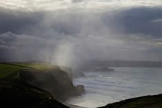Winter storms at Watergate Bay Cornwall © Peter Barritt