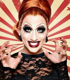 Bianca del Rio.  THE Queen :) The one and only  (sry, Ru -.-´)