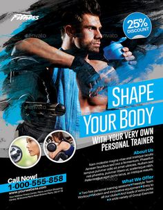 Fitness Flyer by inddesigner Fitness Flyer, Fitness Goals, Fitness Tips, Squats Fitness, Fitness Men, Fitness Journal, Fitness Outfits, Female Fitness, Yoga Fitness