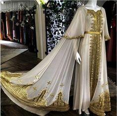 Gold caftan