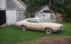 Crusty Cutlass: 1971 Oldsmobile Cutlass - http://barnfinds.com/55949-2/