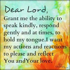 Yes Please help me reflect you at all times..