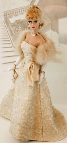 Evening Glamour  via donna's doll designs