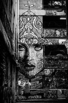 Smoko by John Raptis street art, graffiti Murals Street Art, Graffiti Art, 3d Street Art, Amazing Street Art, Street Artists, Amazing Art, Tachisme, Pop Art, Urbane Kunst