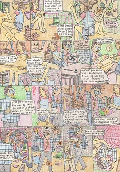Virtual exhibition Michiel Budel | Lambiek Comic Shop