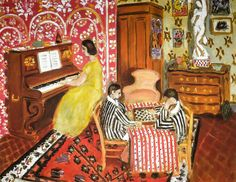 Henri Matisse - Pianist and Checker-Players, 1924 at National Gallery of Art Washington DC