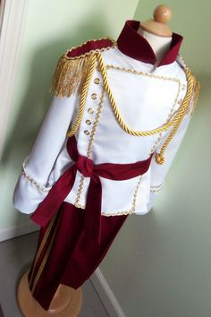 Stunning Boys Prince Costume - READY TO SHIP - Size 4T. $175.00, via Etsy.