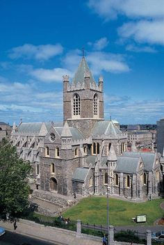 Crist Church Cathedral in Dublin.... Oldest building in Ireland