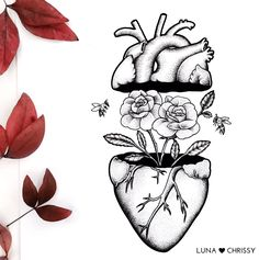 Photo tattoo Julia ShinShin Shingreeva - Tattoo Flowers with . Cool Art Drawings, Pencil Art Drawings, Art Drawings Sketches, Tattoo Drawings, Anatomy Art, Art Sketchbook, Doodle Art, Painting & Drawing, Artsy