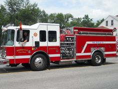 Fire Rescue Waterville Maine Engine 2