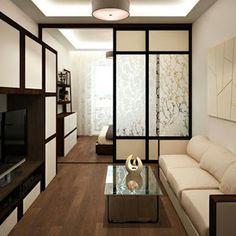 16 Ideas For Bedroom Modern Design Small Studio Apartments Studio Apartment Design, Small Apartment Design, Modern Home Interior Design, Condo Design, Studio Apartment Decorating, Modern Bedroom Design, Apartment Interior, Small Apartments, Small Spaces