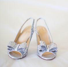 Pretty, girly and sparkly...what else do you need in a shoe!!