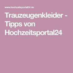 Trauzeugenkleider - Tipps von Hochzeitsportal24