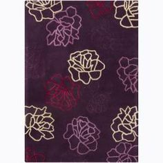 @Overstock   An Eye Catching Geometric Design Highlights This Mandara Rug.  This Thick