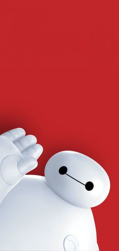 Baymax 1080x2280 red background