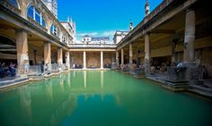 Roman Baths, City of Bath, UK