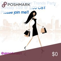 Posh Party!! 🎉🎉 Please Share!! Please join me and check out my host picks!! ❤️❤️ Other