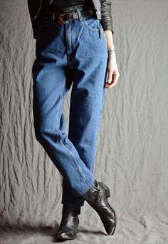 ▼ Vintage 90's DKNY Jeans High Waist Mom Jeans