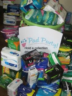 Do you know 46.6 million Americans rely on SNAP ( Food Stamps) but cannot use benefits to purchase necessities like sanitary pads?