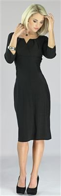 black dress $59.99 (direct link to dress being sold)     Katherine Modest Dress by Mikarose