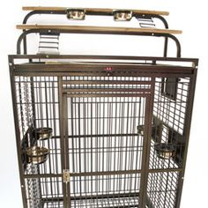 Find the perfect pet bird cage that fits your pet bird's personality and your lifestyle.