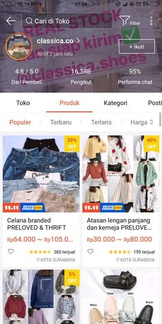 Best Online Clothing Stores, Online Shopping Sites, Online Shopping Clothes, Casual School Outfits, Casual Hijab Outfit, Kpop Fashion Outfits, Cute Fashion, Online Shop Baju, Shops