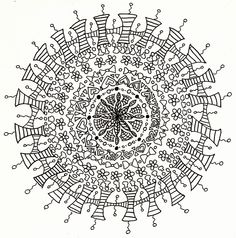 The Cute Mandala Line Art By Crazyruthie On DeviantArt