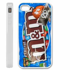 M chocolate candy PRETZEL cover for iPhone 4