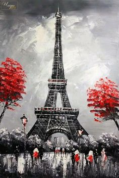 What is Your Painting Style? How do you find your own painting style? What is your painting style? Paris Painting, City Painting, Oil Painting Abstract, Oil Paintings, Magritte Paintings, Paris Torre Eiffel, Paris Eiffel Tower, Eiffel Towers, City Art