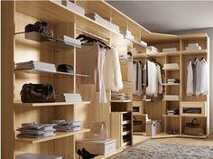 Cabina armadio componibile in legno ODEA   Cabina armadio