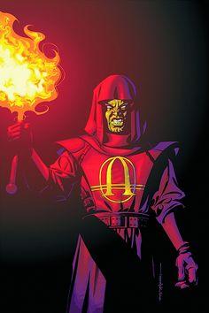 Anarky has been confirmed as a villain for Arrow's upcoming fourth season! Beware The Batman, Hugo Strange, Homeless Man, Dc Characters, Gotham City, Catwoman, Rogues, Comic Art, Dc Comics