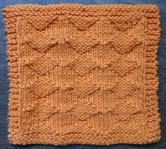 Perfect One-Ounce Dishcloth - FREE Patterns: FREE PATTERN #6 - Diamond Lil One-Ounce Dishcloth