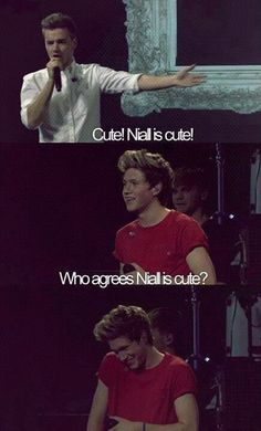 Niall girl(: he is legit so adorable. Gah :3
