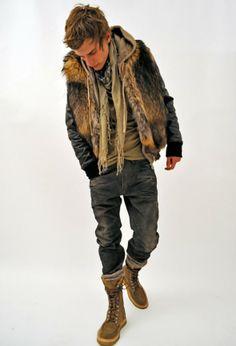 fur hoodies for men | Fur For Men 590x867 Fur fashion trend: Fur clothing & Fur coats