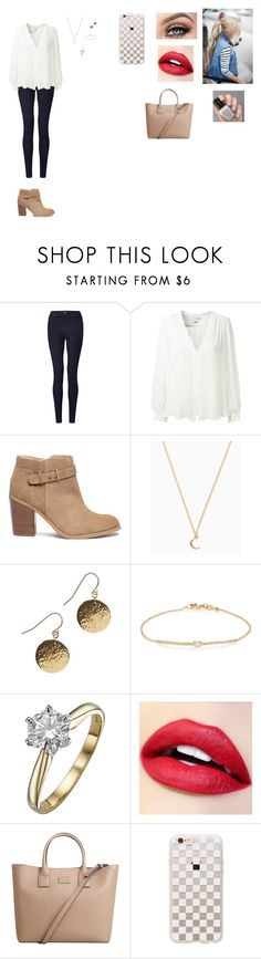 """""""Picking up the kids"""" by natalia-alve-niel ❤ liked on Polyvore featuring John Lewis, Erin Fetherston, Sole Society, Tate, MANGO and Rifle Paper Co"""