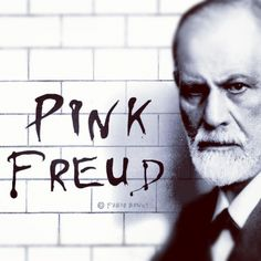 My new graphic idea... Pink Freud!   • Copyright Fabio Bruni •