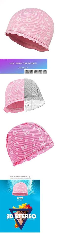 Swim Caps 117162: Handc Children Breathable Swim Cap-Children Bathing Hat -Flowers, New -> BUY IT NOW ONLY: $109.99 on eBay!
